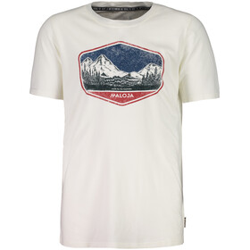 Maloja BeverinM. t-shirt Heren wit